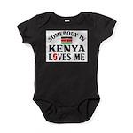 Somebody In Kenya Baby Bodysuit