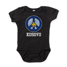Peace In Kosovo Baby Bodysuit