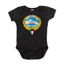 Kuwait Coat Of Arms Baby Bodysuit