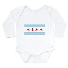 Chicago Flag Body Suit