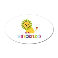 Vincenzo Loves Lions Wall Decal