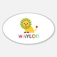 Waylon Loves Lions Decal