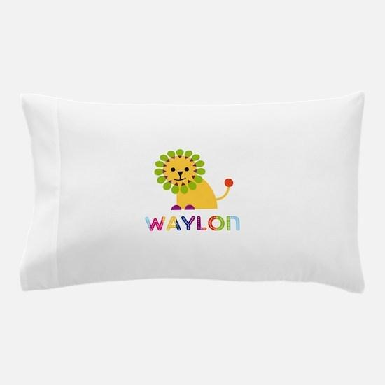 Waylon Loves Lions Pillow Case