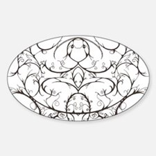 Tribal Design Oval Decal