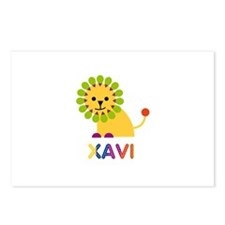 Xavi Loves Lions Postcards (Package of 8)