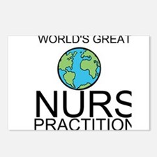 Worlds Greatest Nurse Practitioner Postcards (Pack