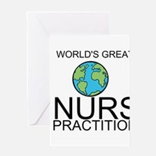 Worlds Greatest Nurse Practitioner Greeting Card
