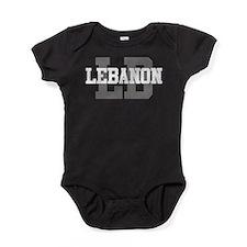 LB Lebanon Baby Bodysuit