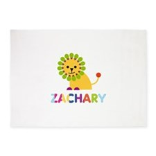 Zachary Loves Lions 5'x7'Area Rug