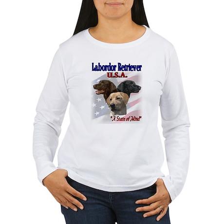 Labrador Retriever Gifts Women's Long Sleeve T-Shi