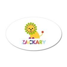 Zackary Loves Lions Wall Decal