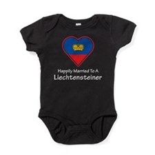 Happily Married Liechtenstein Baby Bodysuit