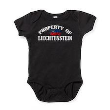 Property Of Liechtenstein Baby Bodysuit