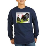Turkey Day Long Sleeve Dark T-Shirt