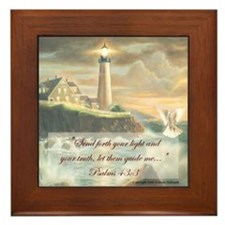 """""""Guide my Spirit O Lord"""" Fine Art Framed Tile"""