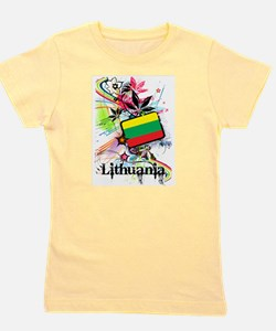 Lithuania Girl's Tee