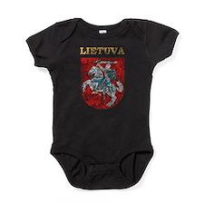 Vintage Lietuva Baby Bodysuit