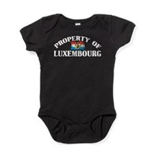 Property Of Luxembourg Baby Bodysuit