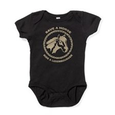 Ride A Luxembourger Baby Bodysuit