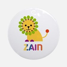 Zain Loves Lions Ornament (Round)