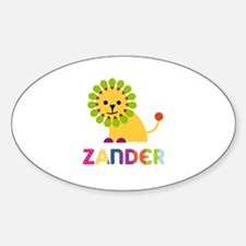 Zander Loves Lions Decal