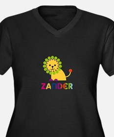 Zander Loves Lions Plus Size T-Shirt