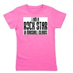 Rock Star In Marshall Islands Girl's Tee