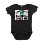 Somebody In Mauritania Baby Bodysuit