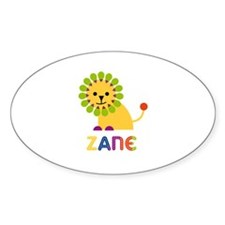 Zane Loves Lions Decal