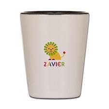 Zavier Loves Lions Shot Glass