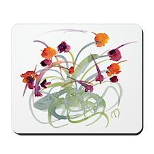 Atom Flowers Mousepad