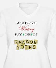 Ransom Notes Plus Size T-Shirt