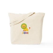 Zeke Loves Lions Tote Bag