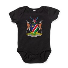 Namibia Coat Of Arms Baby Bodysuit