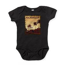 Vintage Nicaragua Baby Bodysuit