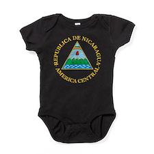 Nicaragua Coat Of Arms Baby Bodysuit
