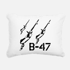 B-47 Rectangular Canvas Pillow