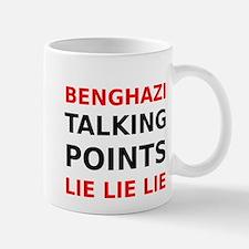 Benghazi Talking Points Lie Lie Lie Mug