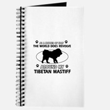 Tibetan Mastiff dog funny designs Journal