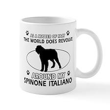 Spinone Italiano dog funny designs Mug