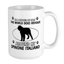 Spinone Italiano dog funny designs Mug