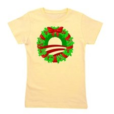 obamawreath2.png Girl's Tee