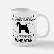 Wheaten dog funny designs Mug