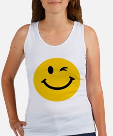 Winking smiley face Tank Top