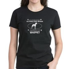 Whippet dog funny designs Tee