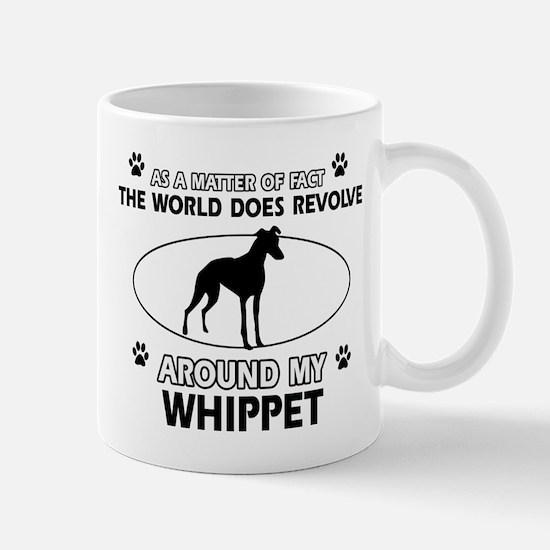Whippet dog funny designs Mug