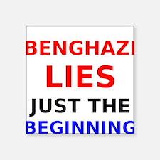 Benghazi Lies Just the Beginning Sticker