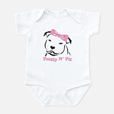 Pretty N' Pit Logowear Infant Bodysuit