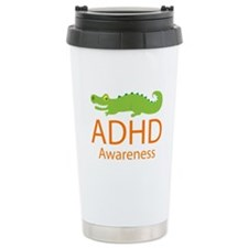 ADHD Awareness (Alligator) Travel Mug