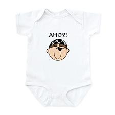 Ahoy Pirate Infant Bodysuit